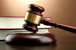 gavel symbolizing legal case